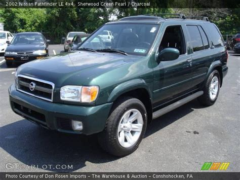 nissan pathfinder le 2002 sherwood green pearl 2002 nissan pathfinder le 4x4