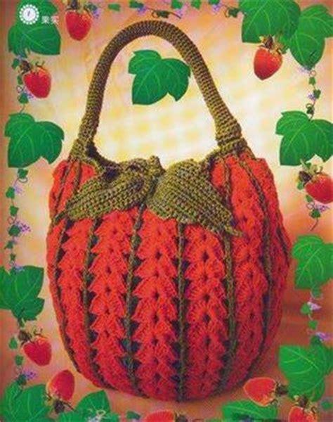 free crochet pattern strawberry bag strawberry crochet bag crochet kingdom