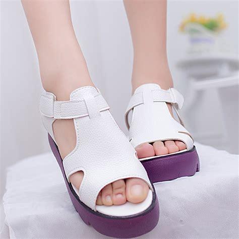 Sandal Fashion Korea 288 new 2015 platform sandals korean style shoes shoes casual sandal fashion