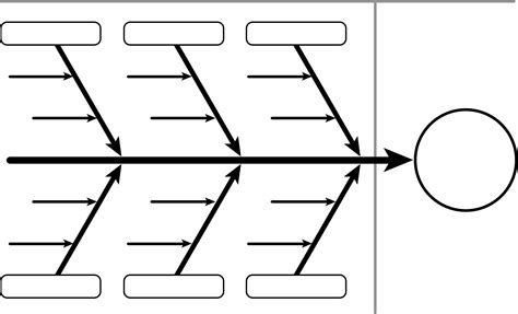 template for fishbone diagram blank fishbone diagram template calendar templates