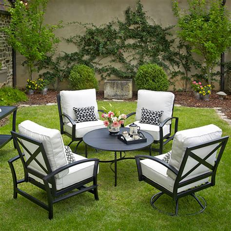 meadowcraft maddux meadowcraft wrought iron the patio shop patio outdoor furniture