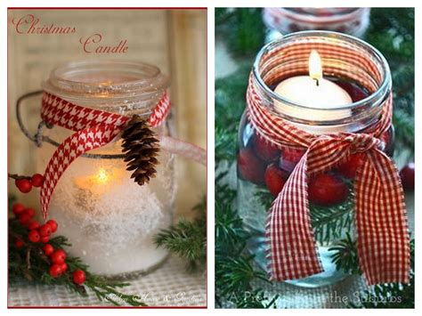 sweetest nest diy christmas mason jars