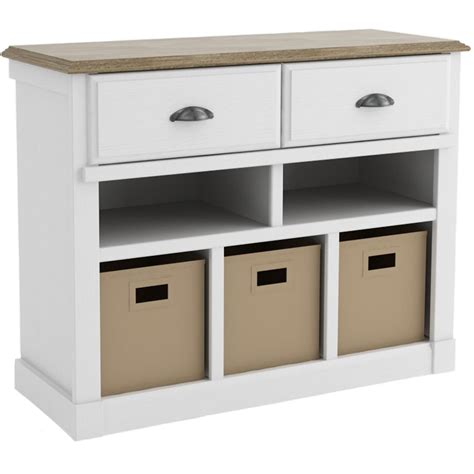 storage console table in accent tables
