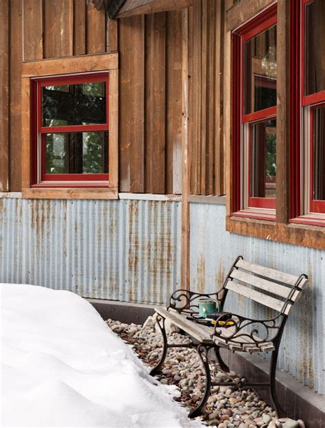 Outdoor Wainscoting Ideas 25 Best Ideas About Rustic Exterior On Rustic