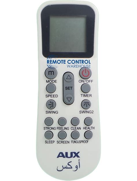 Remote Ac Aux aux air conditioner remote ykr k 002e