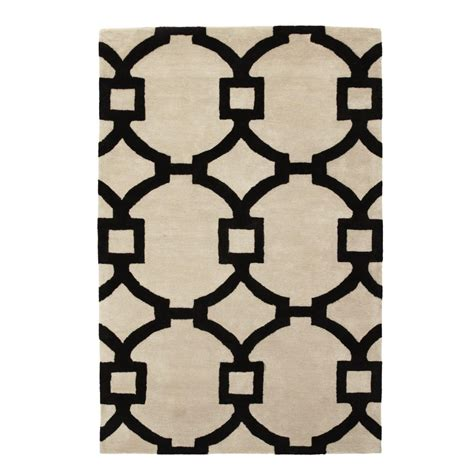 home decorators collection tufted white 8 ft x home decorators collection sawyer white 2 ft 6 in x 8 ft runner 1605460410 the home depot