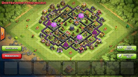 layout coc rh8 macksiking 180 s th8 farm und kriegsbasis rh level 8