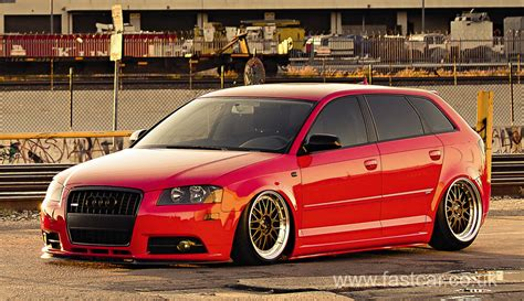 Audi A3 Stance by Stanced Audi A3 Fast Car