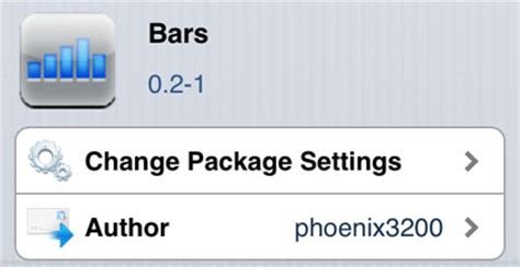 bars cydia tweak iphone signal strength with bars the iphone faq