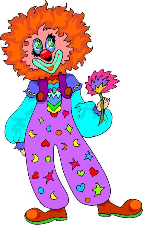 clown clipart cliparts amusement clowns 187 animaatjes nl