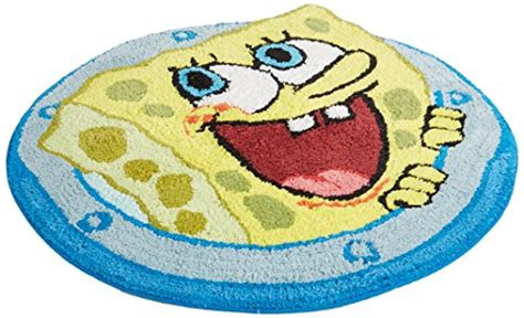 spongebob rugs nickelodeon spongebob square quot set sail quot cotton rug new free shipping ebay