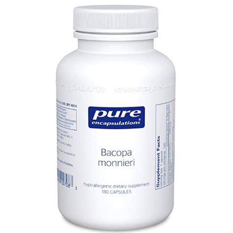 Lipotropic Detox Side Effects by Encapsulations Bacopa Monnieri Ascorbyl Palmitate Formula