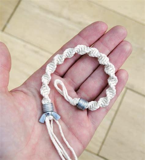 Macrame Bracelet Tutorials - bracelet tutorials with hardware store clasps the