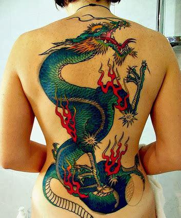 full back dragon tattoos like cool post 22 full back dragon tattoos for women