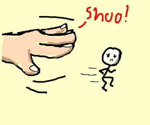 Shoo Amway go away