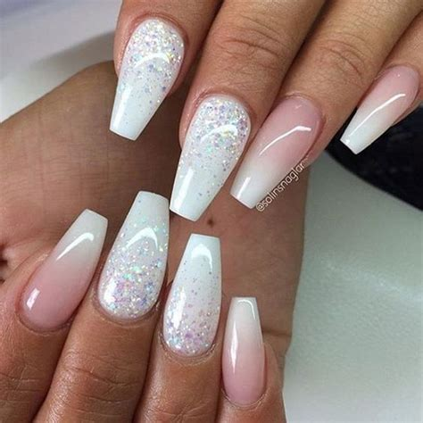 ombre nail design be fun and fabulous with this top 50 glitter ombre nails