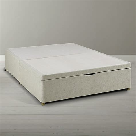 ottoman beds john lewis buy silentnight end divan storage bed king size john lewis