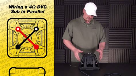 subwoofer wiring   ohm dual voice coil   parallel youtube