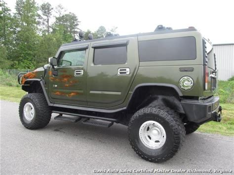 2003 hummer h2 adventure series lifted 4x4