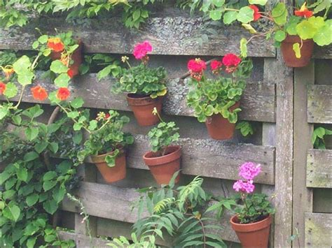 Gardening Ideas Garden Design Hanging Baskets Garden Wall Hanging Baskets