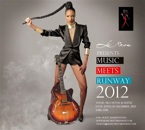 music meets runway home the 2012 edition of music meets runway to hold on monday