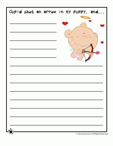 starters for valentines day writing worksheets archives woo jr activities