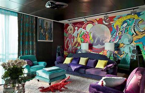 understated bedroom decor pop art interior design ideas 10 steps to modern interior decor in pop art style