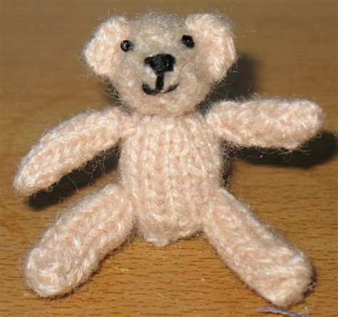tiny teddy knitting patterns teeny tiny teddy pennies per hour of pleasure