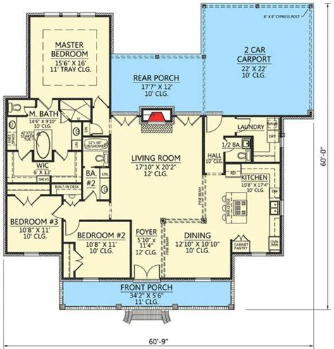 french acadian house plans house plans southern home plans and pine on pinterest