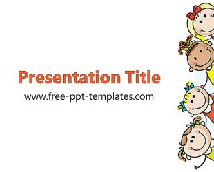 Kids Ppt Template Free Powerpoint Templates Kid Friendly Powerpoint Templates