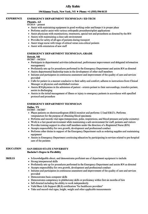 attractive er tech resume objective inspiration exle