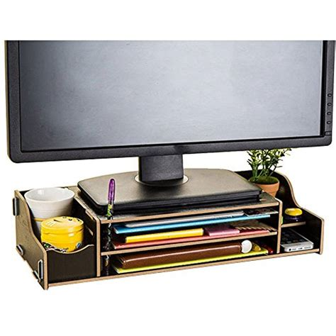 desk organizer monitor stand amazon com seller profile nadamoo
