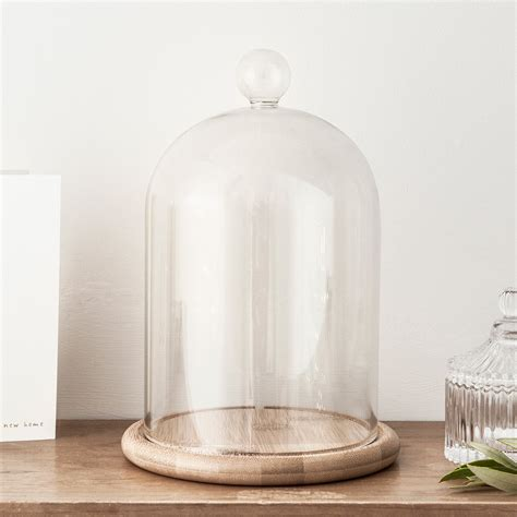 Glass Decorations For Home by Large Glass Dome Bell Jar Lights4fun Co Uk