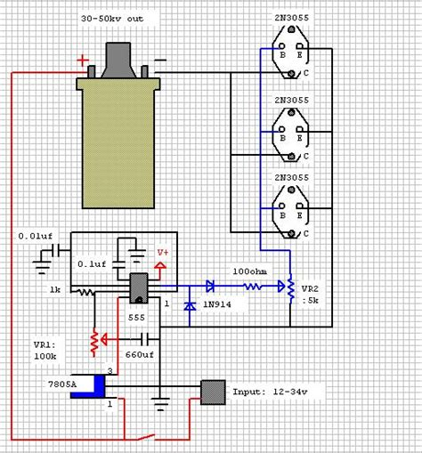 Tesla Radiant Energy Generator Plans Induction Coil Schematic Diagram Get Free Image About