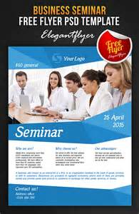 business seminar free flyer psd template faceb by