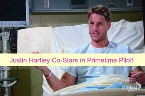 young and the restless star justin hartley to adam newman the young and the restless spoilers justin hartley co