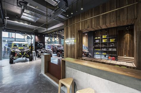 bombardier flagship store in nanjing china by ben zhe
