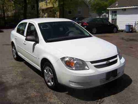 sell used 2007 chevrolet cobalt 4 dr sed speed manual trans in totowa new jersey united states