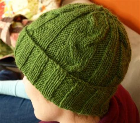 mens knit hat pattern s cabled hat pattern 9 stitches