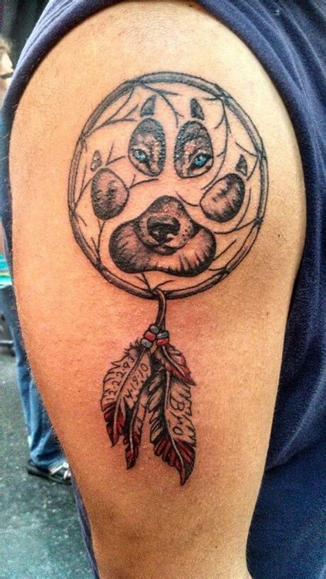 wolf dreamcatcher tattoo 60 dreamcatcher designs 2017