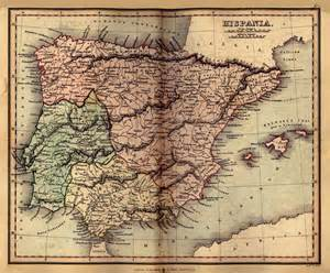 historical maps of spain maps perry casta 241 eda map collection ut library