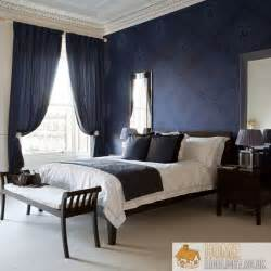 navy blue bedrooms gallery for gt dark blue wall bedroom