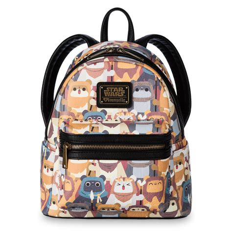 loungefly ewok backpack at shop disney the kessel runway