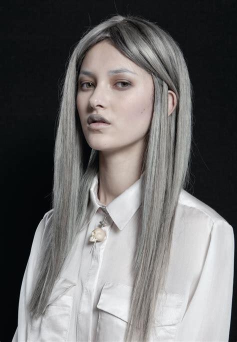 silver gray hair color highlights for light brown hair studio design