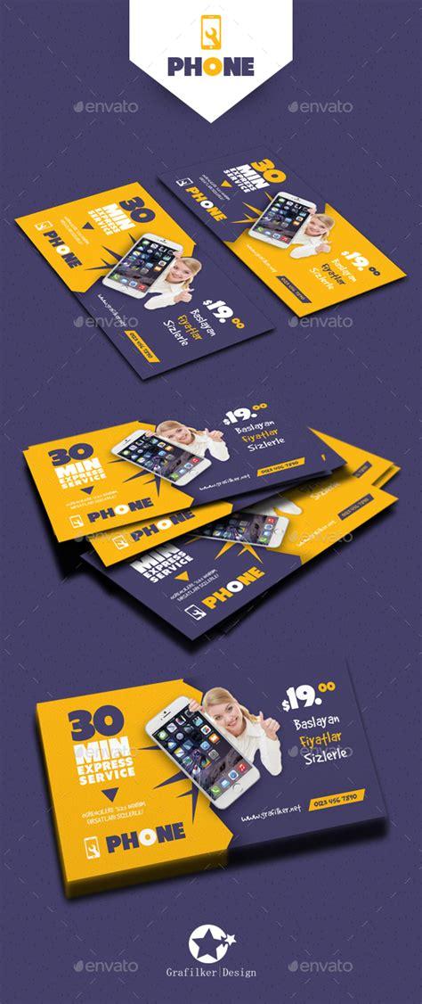 phone repair business card template phone repair business card templates by grafilker