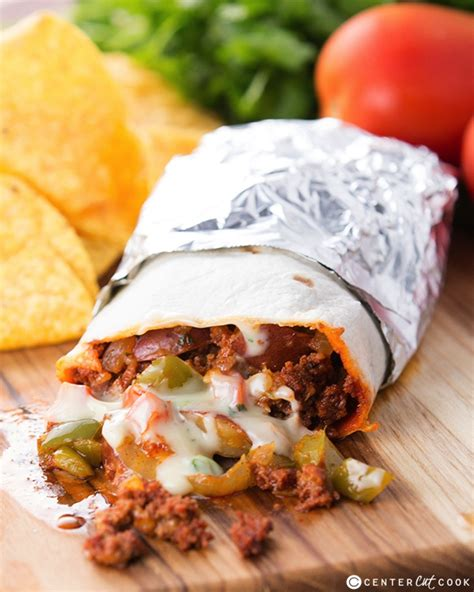 chorizo potato and queso burritos recipe