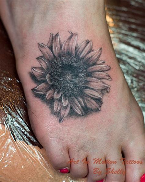 black and white sunflower tattoo designs sunflower tattoos black and gray sunflower 4