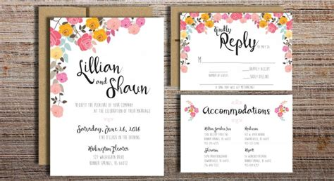 printable wedding invitation suites diy printable wedding invitations wblqual com