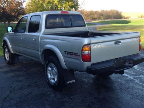 Toyota Tacoma Road Package Purchase Used 2003 Toyota Tacoma 4x4 Sr5 Trd Road