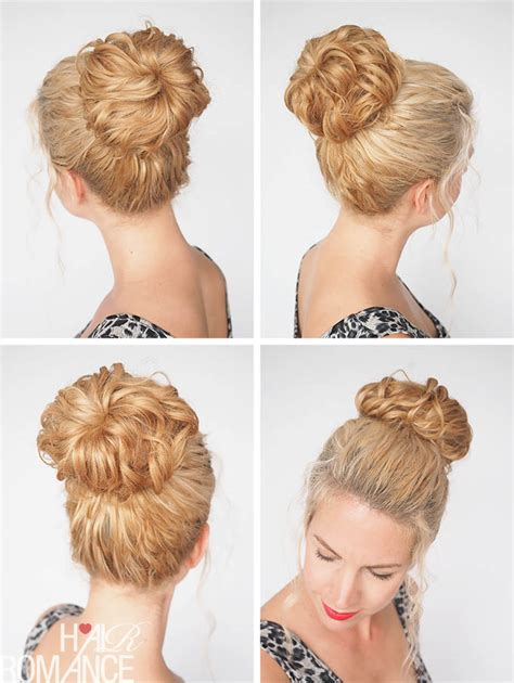 hairstyles using hair donut hair donut hairstyles hair